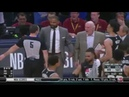 Greg Popovich get a technical foul for trying to call timeout | Spurs vs Nuggets G2 R1