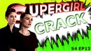 SUPERGIRL CRACK 4X13 AgentCorpIsBack