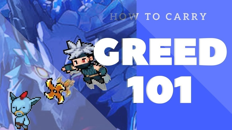 GROWSTONE ONLINE 2D MMORPG How to Carry Greed 101