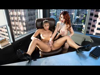 Gia derza, molly stewart whatever she wants (lesbian, office, 69, brunette, small tits, red head, innie pussy, big tits)
