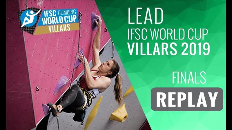 IFSC Climbing World Cup Villars 2019 - Lead Finals