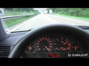 BMW E46 330d on max speed ( unplugged ) :-)