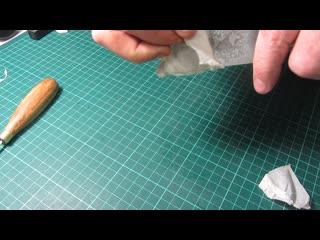 Как режут новые формы ножей