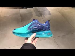 Nike air max 720 royal blue and teal