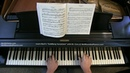 J.S. BACH: Vars. 9-10 from Goldberg Variations (BWV 988) | Cory Hall, pianist