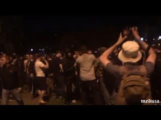 Столкновения из-за строительства храма в Екатеринбурге