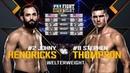 UFC Nashville Free Fight: Stephen Thompson vs Johny Hendricks