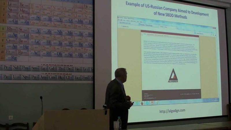 KSSCI2013 Lecture V. Poroikov Drug Design Discovery in Academia