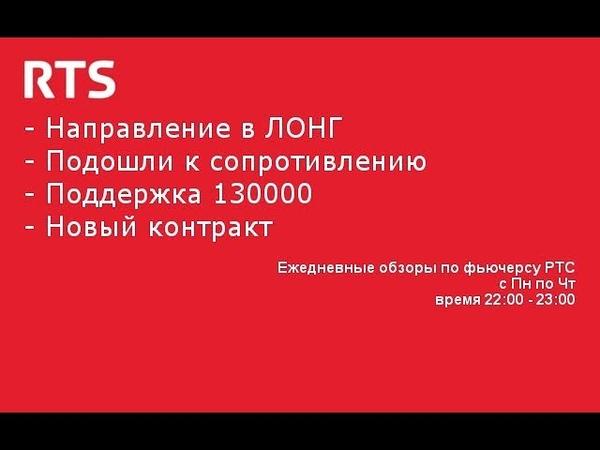 Бонус, построение нисходящего коридора. Анализ рынка РТС на 14.06.2019