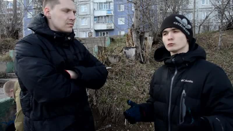 D.M.G. - Субботник 25.04.2015. Набережная Камы. Закамск