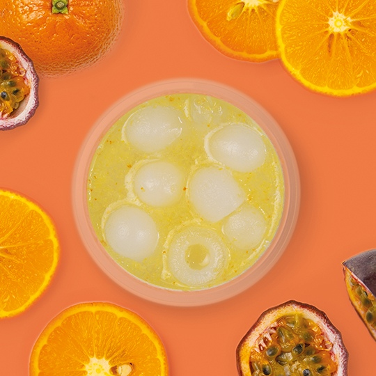 Ощути лето: Лимонад мандарин–маракуйя