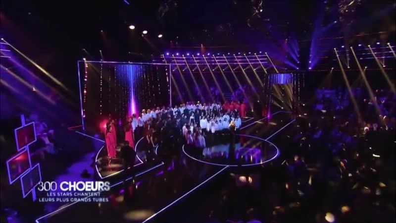 Lara Fabian dans lémission «300 Choeurs chantent leurs plus grands tubes» sur France 3! (190419)