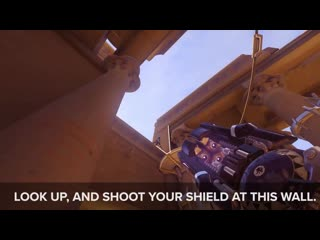 Grab a comrade for tank drills. - - help your widowmaker click heads in under 80 seconds.