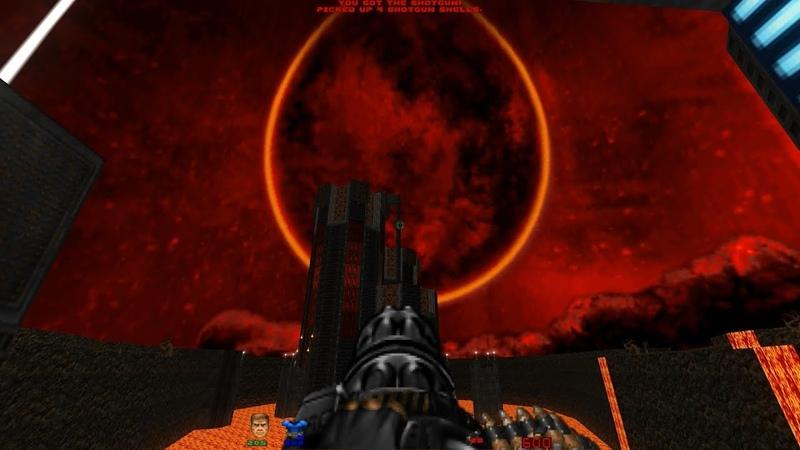 Back to Saturn X E2 - Level 22: Beneath a Festering Moon   Finale [Brutal Doom v21]