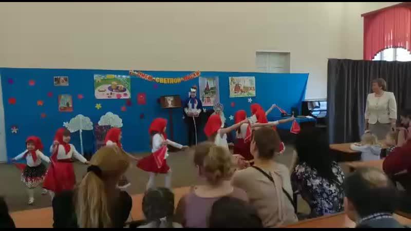 Танец Матрёшек в воскресной школе