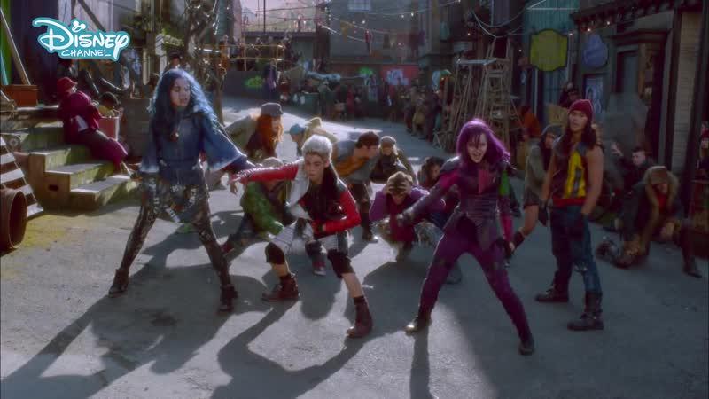 Disney Decendants Rotten To The Core Musicless Music Video