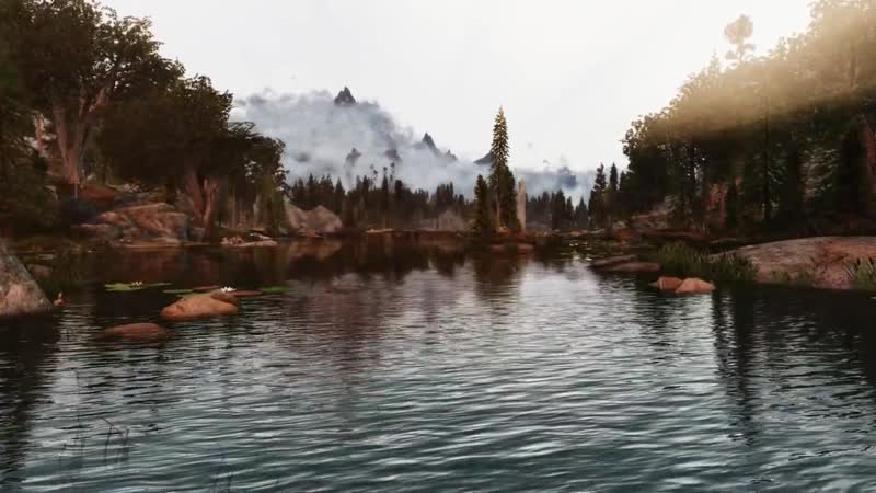 Skyrim SE Pinnacle Reality ENB 2 0 500 Mods Ultra modded graphic gameplay Aequinoctium weather