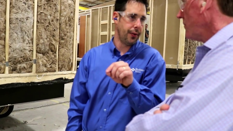 Want to see how a manufactured home is made Redman Homes in Pa