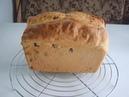 Быстрый белый хлеб с изюмом