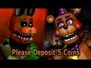 Please Deposit 5 Coins.