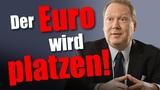 Max Otte Deutschland muss raus aus dem Euro sonst sind wir bald pleite Mission Money