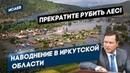 Наводнение в Иркутской области Прекратите РУБИТЬ ЛЕС