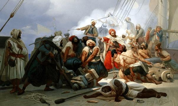 КАК БРАТЬЯ БАРБАРОССА СТАЛИ САМЫМИ КРУТЫМИ ПИРАТАМИ СРЕДИЗЕМНОМОРЬЯ Когда у торговца с острова Лесбос родилось четыре сына, он и не подозревал, что трое из них погибнут страшной смертью, а двое
