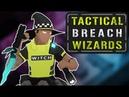 10 минутный геймплейный ролик Tactical Breach Wizards