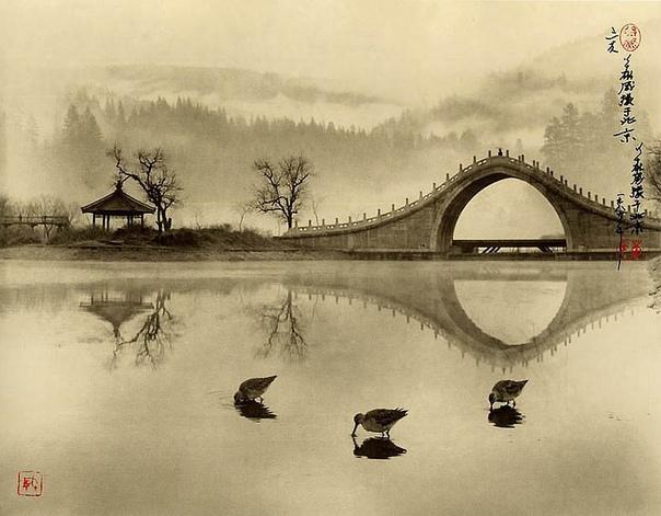 Дун Хун-Оай: фотографии в стиле традиционной китайской живописи Китайский художник и фотограф Дун Хун-Оай родился в 1929 году, а скончался в 2004 году в возрасте 75 лет. Он оставил после себя