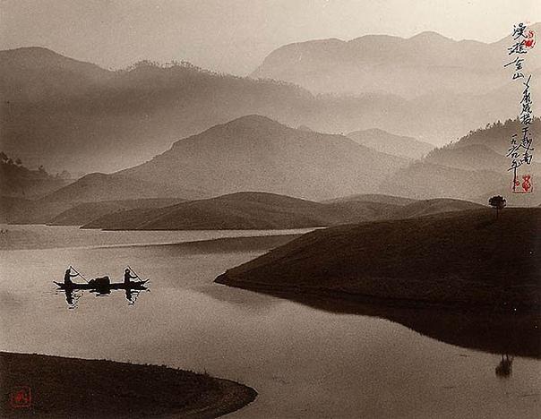 Дун Хун-Оай: фотографии в стиле традиционной китайской живописи