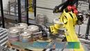 Brouwerij Huyghe Delirium Keg Line 240 kegs/hr by Lambrechts Group with Monobloc 80 washer/filler