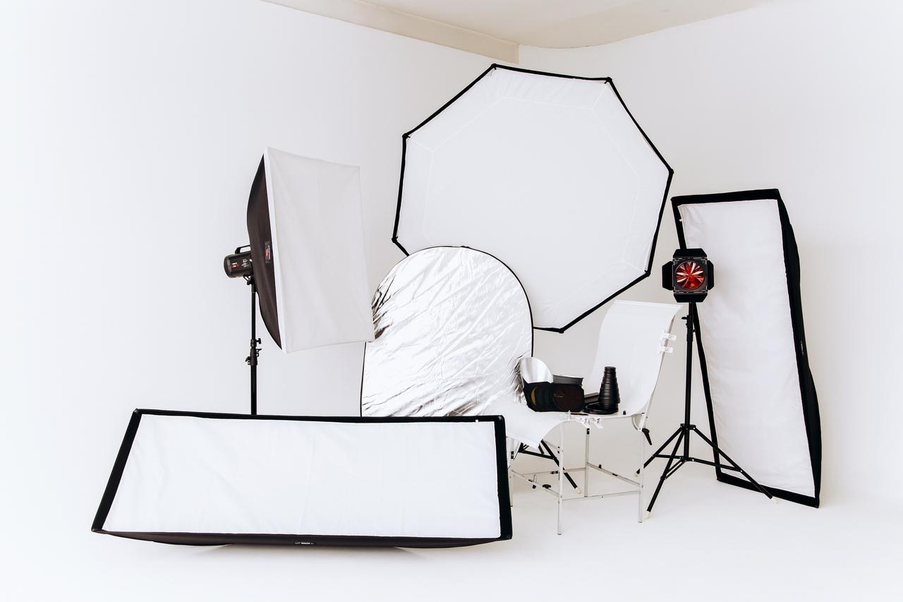 фотостудия для предметной фотосъемки получаются