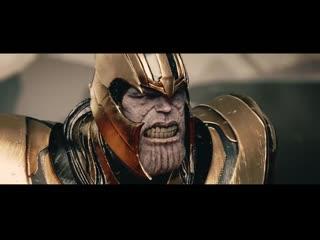 Thanos vs. iron man, thor  captain america