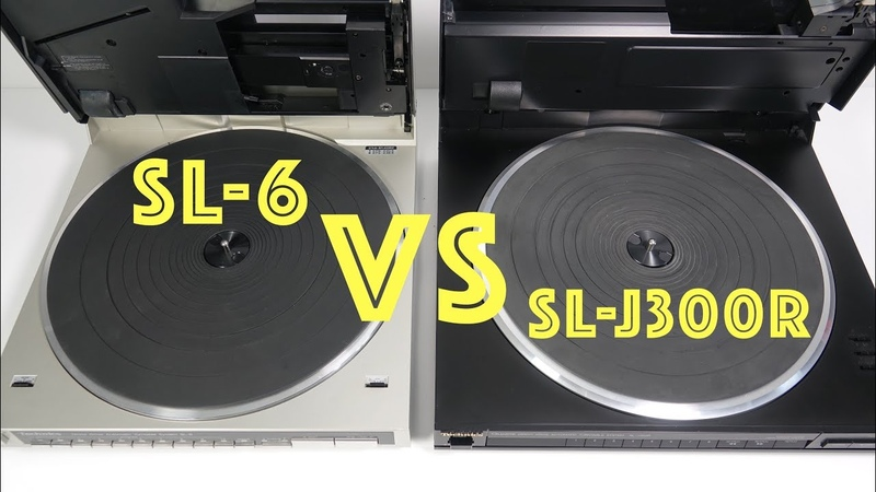 Compact tech filled Technics Turntables old vs older