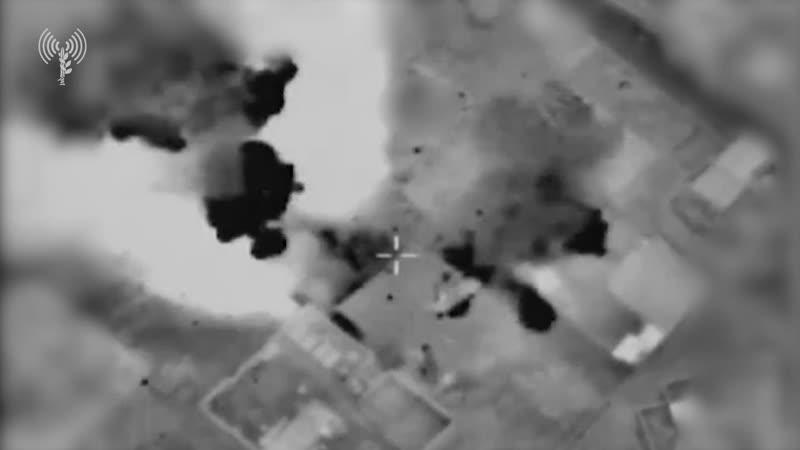 Авиаудары ВВС Израиля по объектам палестинских группировок в Секторе Газа