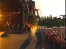 Weird live performance (Blur - Swamp Song) - activate english (UK) subtitles for misheard lyrics
