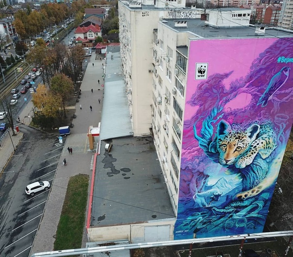 Стрит-арт городов России