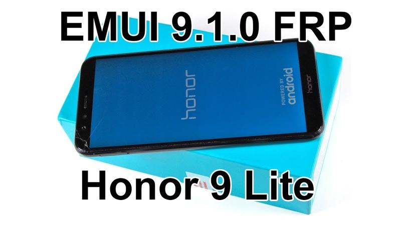 FRP Huawei Honor EMUI 9 1 0 Сброс аккаунта гугл MRT Dongle