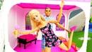 Video con le bambole Barbie. Le vacanze al mare. Giocattoli per bambini