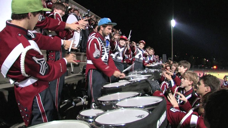 Oak Mountain High School Drum Line 2011-2012 - Jig 2 - October 28, 2011