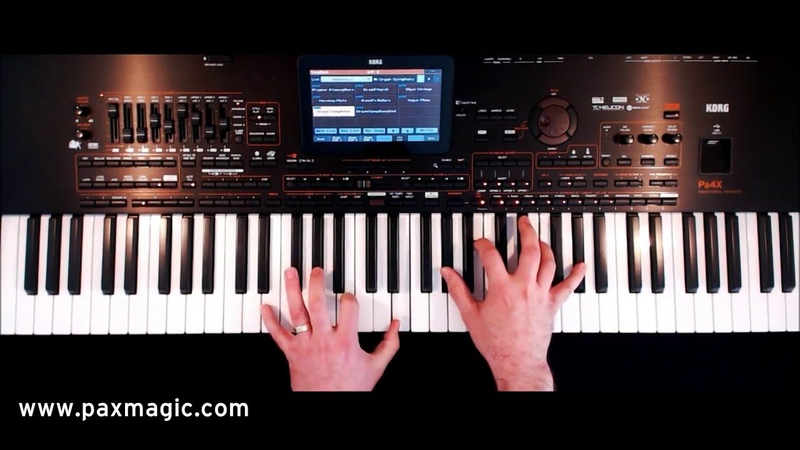 PaX Magic - Classical Spectacular - Keyboard Set Registrations for Korg Pa4X