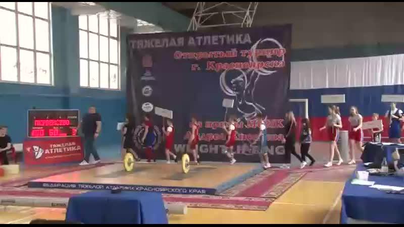 Открытый турнир по тяжёлой атлетике на призы МСМК А. Киселёва