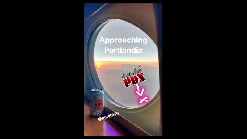 Приближаемся к Портландии Портленд