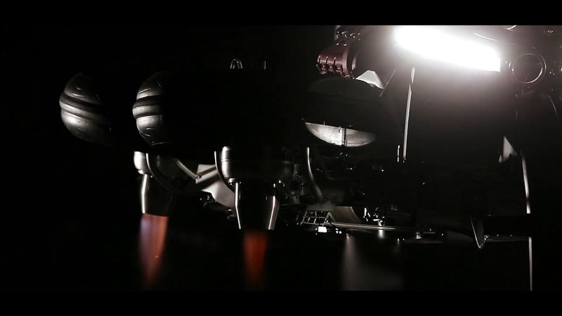 Lazareth LMV 496 - Episode 1 - La Moto Volante - Flying Bike
