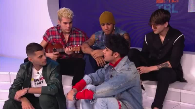 CNCO entrevista para TRL de MTV ❤🔥🙌