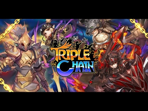 Triple Chain Strategy Puzzle RPG android game first look gameplay español