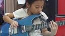 Highway star (organ solo) guitar by PettyRock 7 year old PettyRock