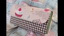 長財布縁どりしない作り方 2 マチ部分詳細編 Handmade Wallet   Fabric Wallet