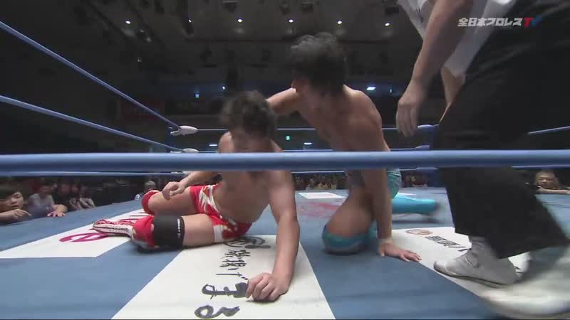 Jake Lee vs. Naoya Nomura (AJPW Champion Carnival 2019 - Day 17)