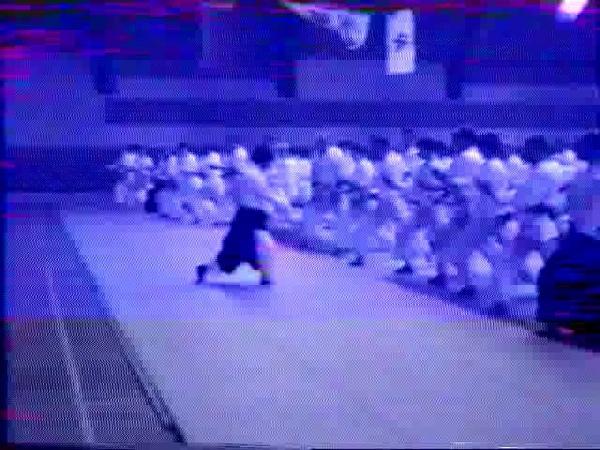Kanetsuka Minoru sensei,семинар айкидо в Беларуссии, 1996